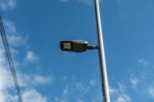Odbiór nowego oświetlenia LED wdłuż drogi krajowej DK52 - 18 września 2020 r. - fot. Andrzej Famielec - Kalwaria 24-07657