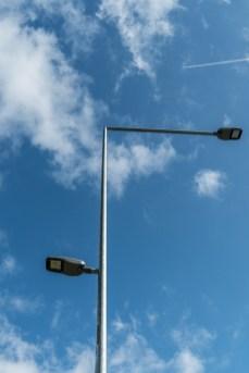 Odbiór nowego oświetlenia LED wdłuż drogi krajowej DK52 - 18 września 2020 r. - fot. Andrzej Famielec - Kalwaria 24-07659