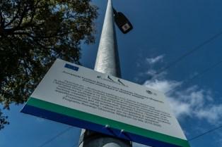Odbiór nowego oświetlenia LED wdłuż drogi krajowej DK52 - 18 września 2020 r. - fot. Andrzej Famielec - Kalwaria 24-07682