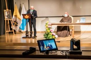 Sympozjum poświęcone Mikołajowi Zebrzydowskiemu - 24 października 2020 r.- fot. Andrzej Famielec - Kalwaria 24-09149-2