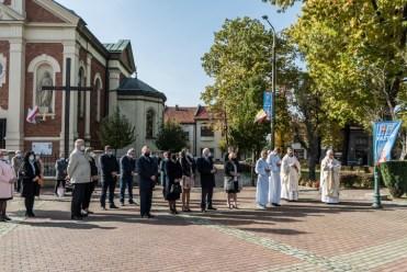 Uroczystość św. Jana Pawła II - Patrona miasta Kalwaria Zebrzydowska - 22 października 2020 r.- fot. Andrzej Famielec - Kalwaria 24-2-4