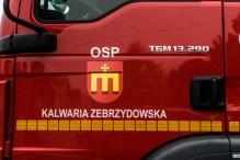 Przekazanie wozu bojowego OSP w Kalwarii Zebrzydowskiej - 3 listopada 2020 r.- fot. Andrzej Famielec - Kalwaria 24-09420