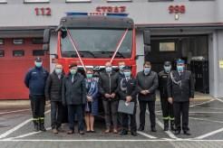 Przekazanie wozu bojowego OSP w Kalwarii Zebrzydowskiej - 3 listopada 2020 r.- fot. Andrzej Famielec - Kalwaria 24-09578