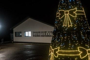 Ilumincja Bożonarodzeniowia - grudzień 2020 r. - fot. Andrzej Famielec - Kalwaria 24-00467