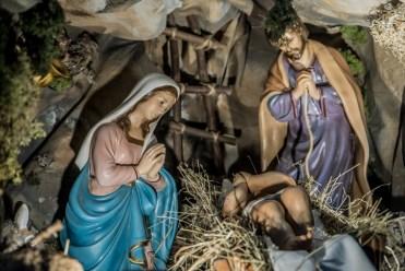Kalwaryjska Szopka Bożonarodzeniowa - 29 grudnia 2020 r.- fot. Andrzej Famielec - Kalwaria 24-00646