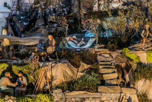 Kalwaryjska Szopka Bożonarodzeniowa - 29 grudnia 2020 r.- fot. Andrzej Famielec - Kalwaria 24-00654