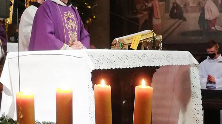Betlejemskie Światło Pokoju dotarło do Kalwarii
