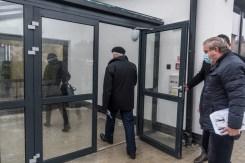 Obiór Środowiskowego Domu Samopomocy - Kalwaria Zebrzydowska 23 grudnia 2020 r.- fot. Andrzej Famielec - Kalwaria 24-00504-2