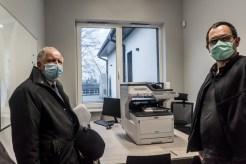 Obiór Środowiskowego Domu Samopomocy - Kalwaria Zebrzydowska 23 grudnia 2020 r.- fot. Andrzej Famielec - Kalwaria 24-00548-2