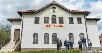 Przekazienie placu budowy remizy OSP Bugaj - 6 maja 2021 r. - fot. Andrzej Famielec - Kalwaria 24-03231