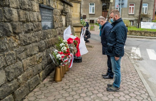 Uroczystości Święta Konstytucji 3 Maja w Kalwarii Zebrzydowskiej 2021 r. - fot. Andrzej Famielec - Kalwaria 24-02941