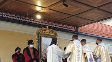 Dziękczynienie za 380 lat obecności Cudownego Obrazu NMP Kalwaryjskiej - fot. Sanktuarium Pasyjno-Maryjne w Kalwarii Zebrzydowskiej