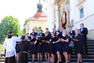 Procesja Bożego Ciała w Kalwarii Zebrzydowskiej - 3 czerwca 2021 r. - fot. o. F. Salezy Nowak OFM   Biuro Prasowe Sanktuarium