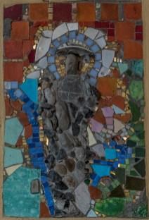 Madonna - lata 70.- mozaika Ireny Weiss (Aneri) w Kościele pw. św. Józefa w Kalwarii Zebrzydowskiej - fot. Andrzej Famielec-05075