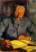 Ojciec czytający, ok. 1907