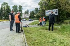 Prace interwencyjne w Kalwarii Zebrzydowskiej - 2021 r. - fot. Andrzej Famielec-04068