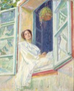 Renia na oknie, 1910