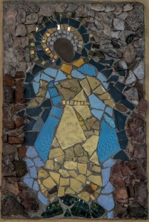 Św. Józef - lata 70.- mozaika Ireny Weiss (Aneri) w Kościele pw. św. Józefa w Kalwarii Zebrzydowskiej - fot. Andrzej Famielec-05074