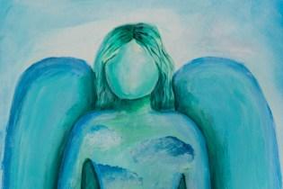 Zielony Anioł w Lanckoronie - Wystawa prac uczniów z -Werandy Anieli- podcas -Spotkania w Stodole--04386
