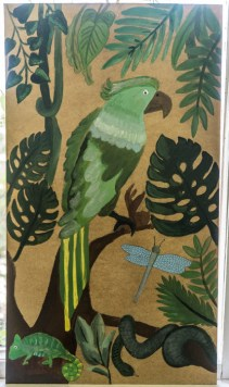 Zielony Anioł w Lanckoronie - Wystawa prac uczniów z -Werandy Anieli- podcas -Spotkania w Stodole--04391