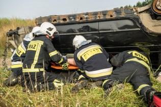 Gminne ćwiczenia OSP - 13 lipca 2021 r. - fot. Andrzej Famielec - Kalwaria 24-06848