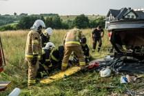 Gminne ćwiczenia OSP - 13 lipca 2021 r. - fot. Andrzej Famielec - Kalwaria 24-06857