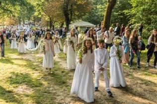 Uroczystości Wniebowzięcia NMP w Kalwaryjskim Sanktuarium - 22 sierpnia 2021 r. - fot. Andrzej Famielec - Kalwaria 24-09967