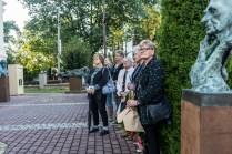 Wernisaż wystawy prof. Karola Badyny w Kalwarii Zebrzydowskiej - 9 sierpnia 2021 r. - fot. Andrzej Famielec - Kalwaria 24-08382