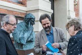 Wernisaż wystawy prof. Karola Badyny w Kalwarii Zebrzydowskiej - 9 sierpnia 2021 r. - fot. Andrzej Famielec - Kalwaria 24-08422