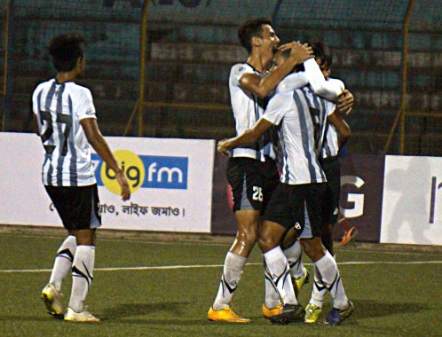 FRENZ UNITED earned fabulous win over MOHAMMEDAN SPORTING CLUB by 5-0