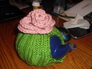flower tea cozy - original