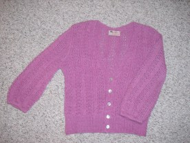 cardigan - from Interweave Knits (alpaca)