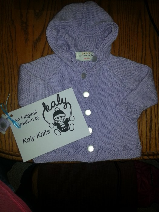 baby sweater - original