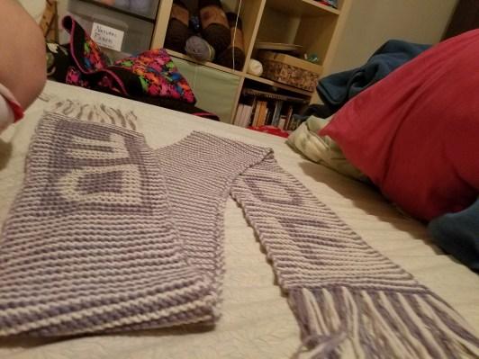 fringed illusion scarf - original (wool)