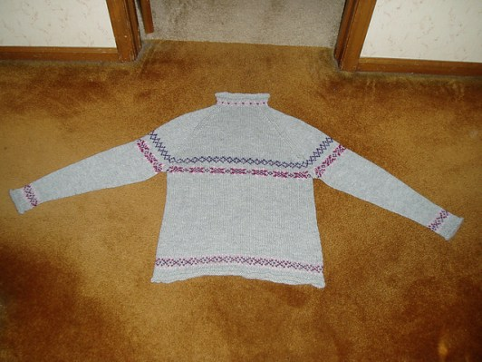 adult sweater - original (wool / alpaca)
