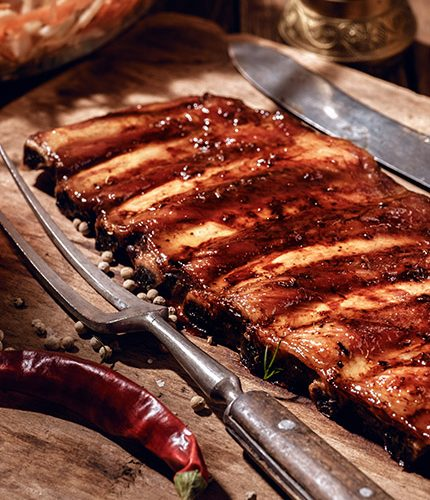 Baby Back Ribs with Bootlegger BBQ Sauce