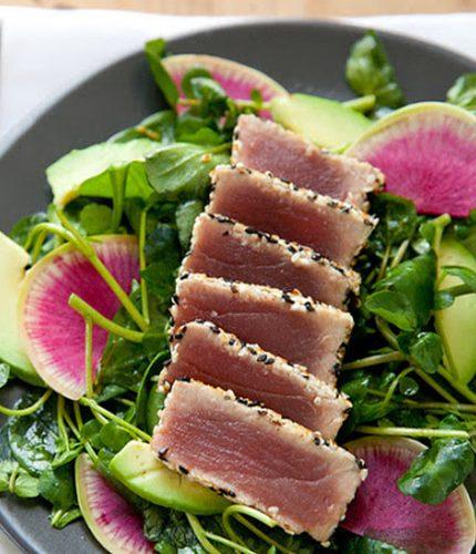 Salt-Seared Tuna Salad
