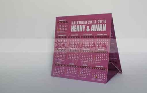 Undangan Kalender Henny - Awan