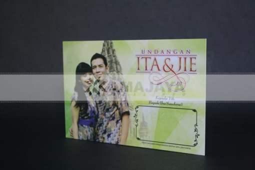 Cover Undangan Nuansa Hijau Ita - Jie