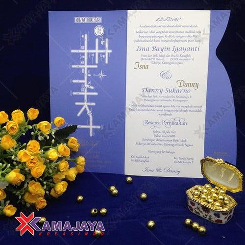 Harga Kartu Undangan Pernikahan Minimalis