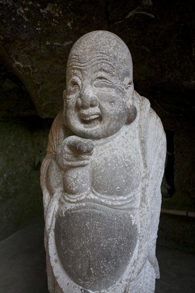 江之島鎌倉七福神の布袋様です。