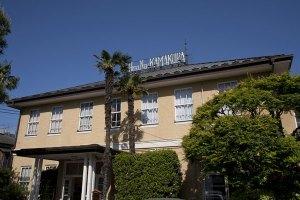 鎌倉最古のホテル、という風格が漂います。
