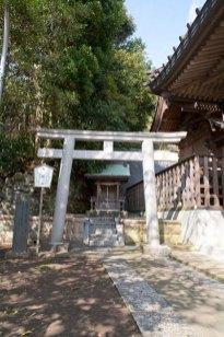 海神社全景。