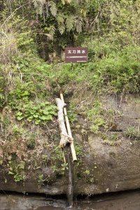 歴史をたたえながらいまも滾々と湧き出る鎌倉五名水のひとつ、太刀洗水。