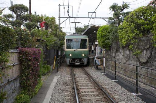 和田塚。近くには和田塚がそのまま駅名となった江ノ電「和田塚駅」があります。
