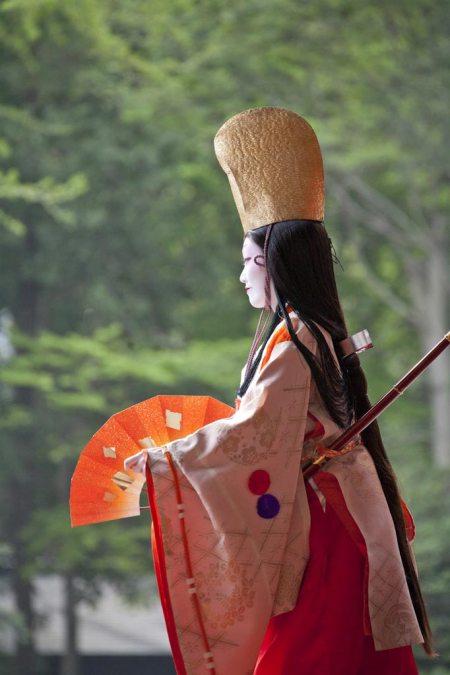 毎年春に開催される鎌倉祭りの人気イベント、静の舞