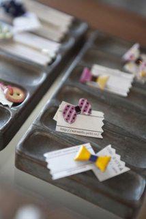 sorasidoの七宝焼アクセサリー。popな色合いが日常を楽しく彩ってくれる夏にぴったりのアイテムです(2,100円~3,360円)。