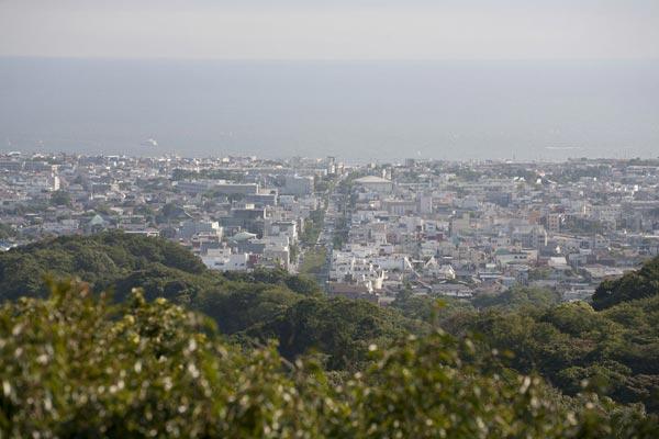 〔地図⑱〕まさに鎌倉の中心を一望です。