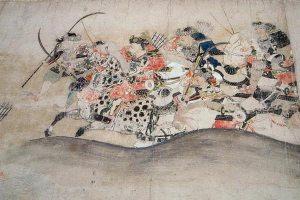 『後三年合戦絵詞』に描かれた源義家