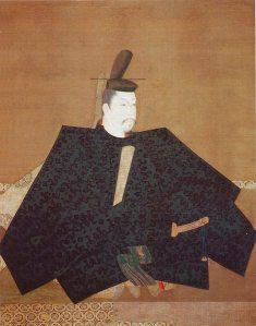 頼朝と伝えられる画像。神護寺所蔵。